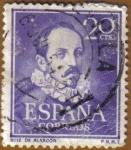 Stamps Spain -  LITERATOS - Ruiz de Alarcon