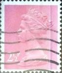 Sellos de Europa - Reino Unido -  Intercambio 0,60 usd 2,5 p. 1975