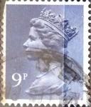 Stamps United Kingdom -  Intercambio 0,20 usd 9 p. 1976