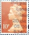 Sellos de Europa - Reino Unido -  10 p. 1993
