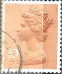 Sellos de Europa - Reino Unido -  Intercambio 0,30 usd 10 p. 1976
