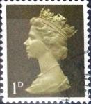 sellos de Europa - Reino Unido -  Intercambio 0,20 usd 1 p. 1968