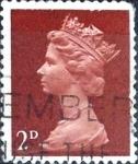 Sellos de Europa - Reino Unido -  Intercambio cxrf2 0,20 usd 2 p. 1968