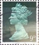 Stamps : Europe : United_Kingdom :  Intercambio 0,30 usd 9 p. 1967