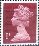 Sellos de Europa - Reino Unido -  Intercambio 0,20 usd 1 p. 1971