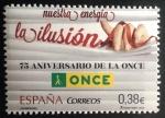 Stamps Spain -  75° Aniversario de la Once