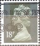 Sellos de Europa - Reino Unido -  Intercambio 0,70 usd 18 p. 1984