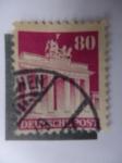 Stamps Germany -  Puerta de Branderburg. Alemania Federal.