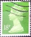 Sellos de Europa - Reino Unido -  Intercambio 0,40 usd 18 p. 1991