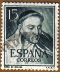 Stamps Europe - Spain -  LITERATOS - Tirso de Molina