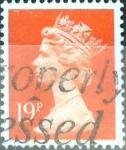 Stamps United Kingdom -  Intercambio 0,35 usd 19 p. 1988