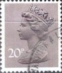 Sellos del Mundo : Europa : Reino_Unido : 20 p. 1980