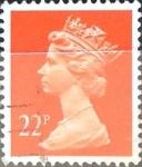 Sellos de Europa - Reino Unido -  Intercambio 0,90 usd 22 p. 1990