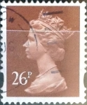 Stamps : Europe : United_Kingdom :  26 p. 1996