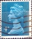 Sellos de Europa - Reino Unido -  4 p. 1980