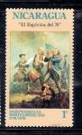 Sellos de America - Nicaragua -  Bicentenario de los Estados Unidos
