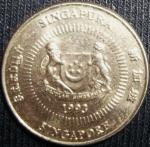 monedas de Asia - Singapur -  1993 (Anverso)
