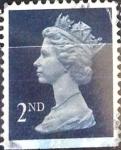 Sellos de Europa - Reino Unido -  Intercambio 0,30 usd 15 p. 1990
