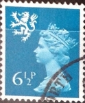 Sellos de Europa - Reino Unido -  Intercambio 0,20 usd 6,5 p. 1976