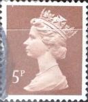 Sellos de Europa - Reino Unido -  5 p. 1986