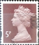 Stamps : Europe : United_Kingdom :   5 p. 1997