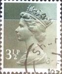Sellos de Europa - Reino Unido -  Intercambio 0,40 usd 3,5 p. 1974