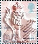 Stamps : Europe : United_Kingdom :  Intercambio agm 0,55 usd 27 p. 2001