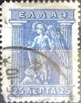 Sellos de Europa - Grecia -  Intercambio 0,80 usd 25 dracma 1911