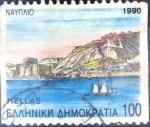 Sellos de Europa - Grecia -  Intercambio 0,60 usd 100 dracma 1990
