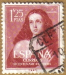 Sellos de Europa - España -  RIBERA, El Españoleto, La Magdalena