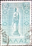 Sellos de Europa - Grecia -  Intercambio 0,25 usd 700 dracmas 1950