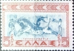 Stamps : Europe : Greece :  5 leptas 1937