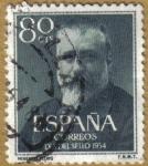 Sellos de Europa - España -  Dia del sello - Marcelino Menendez y Pelayo
