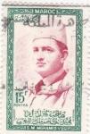 Stamps : Africa : Morocco :  Mohamed V