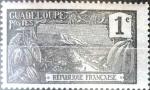 Stamps : America : Guadeloupe :  Intercambio cxrf 0,25 usd 1 cent. 1905