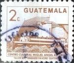 Sellos de America - Guatemala -  Intercambio 0,20 usd 2 cents. 1988