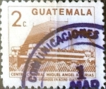 Stamps Guatemala -  Intercambio 0,20 usd 2 cents. 1988