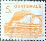 Sellos de America - Guatemala -  Intercambio 0,20 usd 5 cent. 1990