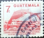 Stamps : America : Guatemala :  Intercambio 0,20 usd 7 cent. 1987