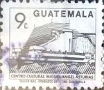 Sellos de America - Guatemala -  Intercambio 0,20 usd 9 cent. 1991