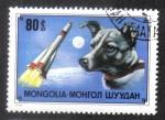 Sellos de Asia - Mongolia -  Laika