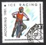 Sellos de Asia - Mongolia -  Deporte de Motocicletas