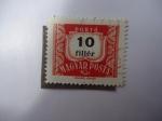 Stamps Hungary -  Portó Belyeg.