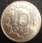 monedas de Europa - Dinamarca -  1961 (Reverso)