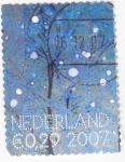Stamps Netherlands -  copos de nieve