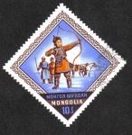 Sellos de Asia - Mongolia -  Celebración Nacional Naadam