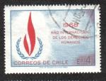 Sellos de America - Chile -  Año de Los Derechos Humanos