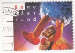 Sellos de Europa - Holanda -  muñecos de la tele