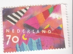 Stamps Netherlands -  ilustración