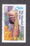 Sellos de America - Chile -  Dia Mundial del SIDA